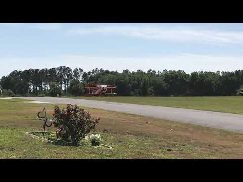 Samson Mite takeoff with Verner 9 Cylinder Radial - YouTube