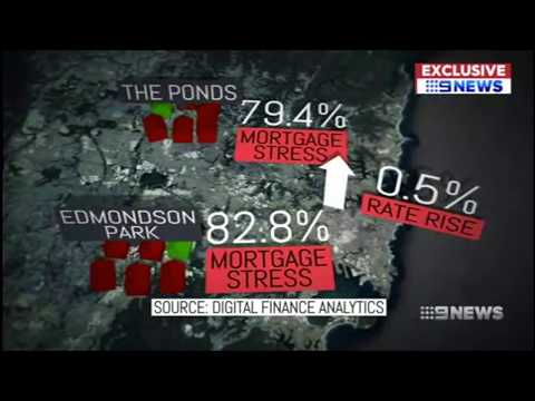 Half of Sydney struggling with mortgage stress - 9 News