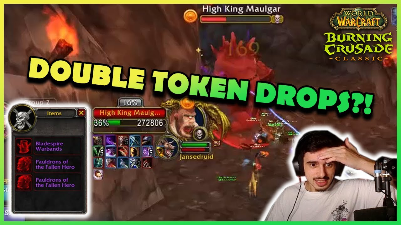 DOUBLE TOKEN DROPS?! | Daily Classic WoW Highlights #141 |
