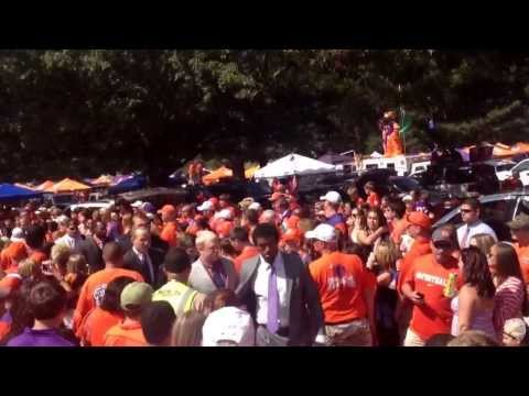 "2013 Clemson TIGER WALK vs Wake Forest ""We too deep"""