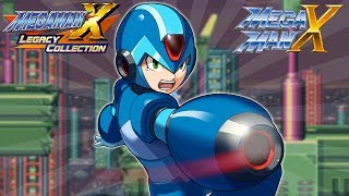 Mega Man X Legacy Collection 1 + 2: Mega Man X FULL GAME! (Switch, Xbox One, PS4, PC)