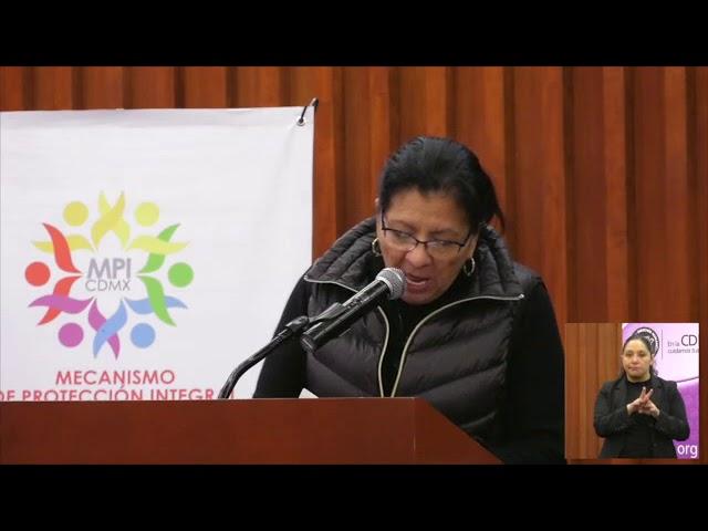 Palabras de Nashieli Ramírez, Presidenta de la CDHDF