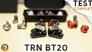 trn bt20 true wireless pour kz et intras dtachables
