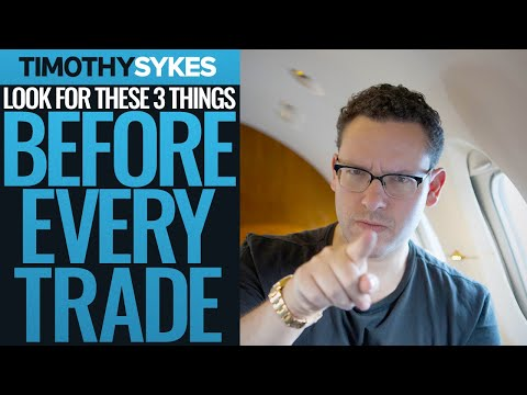 Look for These 3 Things Before EVERY Trade