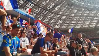 France - Denmark. Luzhniki. Magic In The Air
