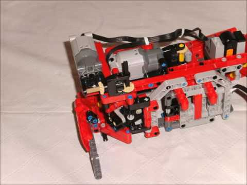 lego technic 42054 b 1 tiel youtube. Black Bedroom Furniture Sets. Home Design Ideas