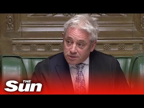 Bercow slams May as 'deeply discourteous' for cancelling Commons Brexit vote