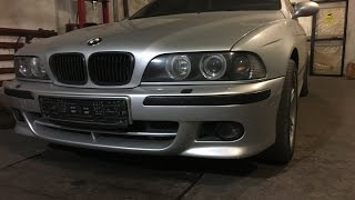 Замена тормозных колодок BMW e39