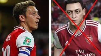 Wieso wurde Özil aus einem Videospiel GELÖSCHT ?!