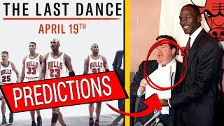 PREDICTIONS about THE LAST DANCE Bulls Michael Jordan documentary [ESPN]
