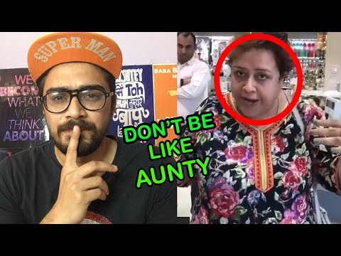 Aunty Viral On Social Media  | Don't Be Like Aunty | Oye Velle
