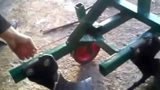 обзор самодельного двухкорпусного плуга для минитрактора ( homemade plow for tractors )