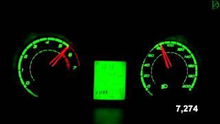 Lada Kalina Cross Acceleration 0-100 km/h (Racelogic)