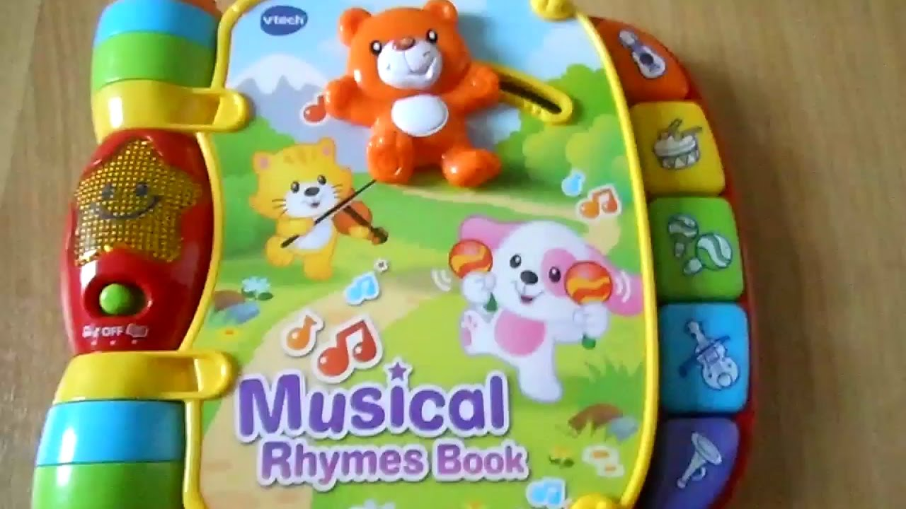 Vtech Musical Rhymes Book Youtube