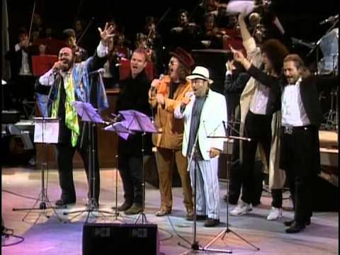 1992 Pavarotti, Luciano and Sting, Zucchero and Lucio Dalla  La donna emobile