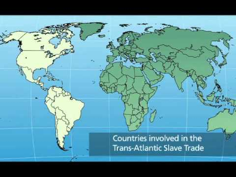 2   What countries were involved in the Triangular Trade