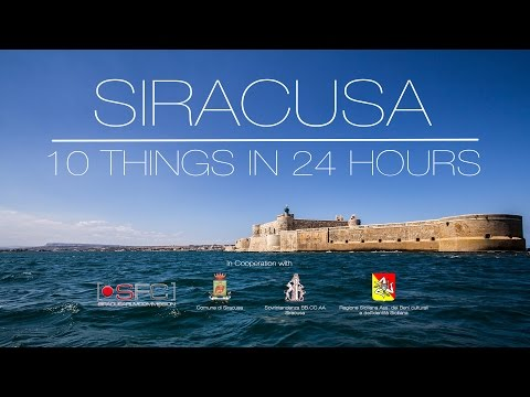 Siracusa | 10 Things in 24 Hours