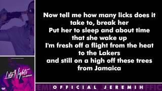 Jeremih - Ahh Sh*t [Lyrics]