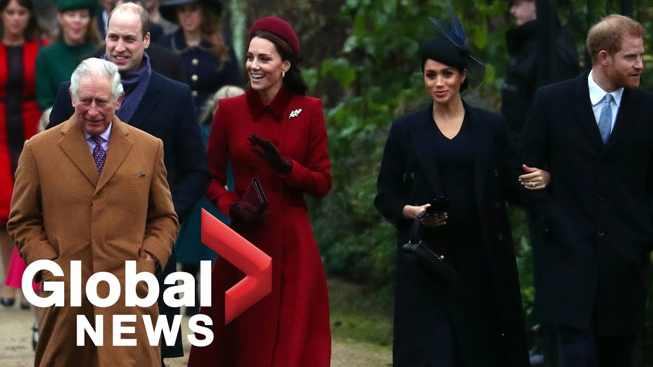 Christmas Church Services Near Me.Queen Elizabeth Ii Royal Family Attend Christmas Day Church Service