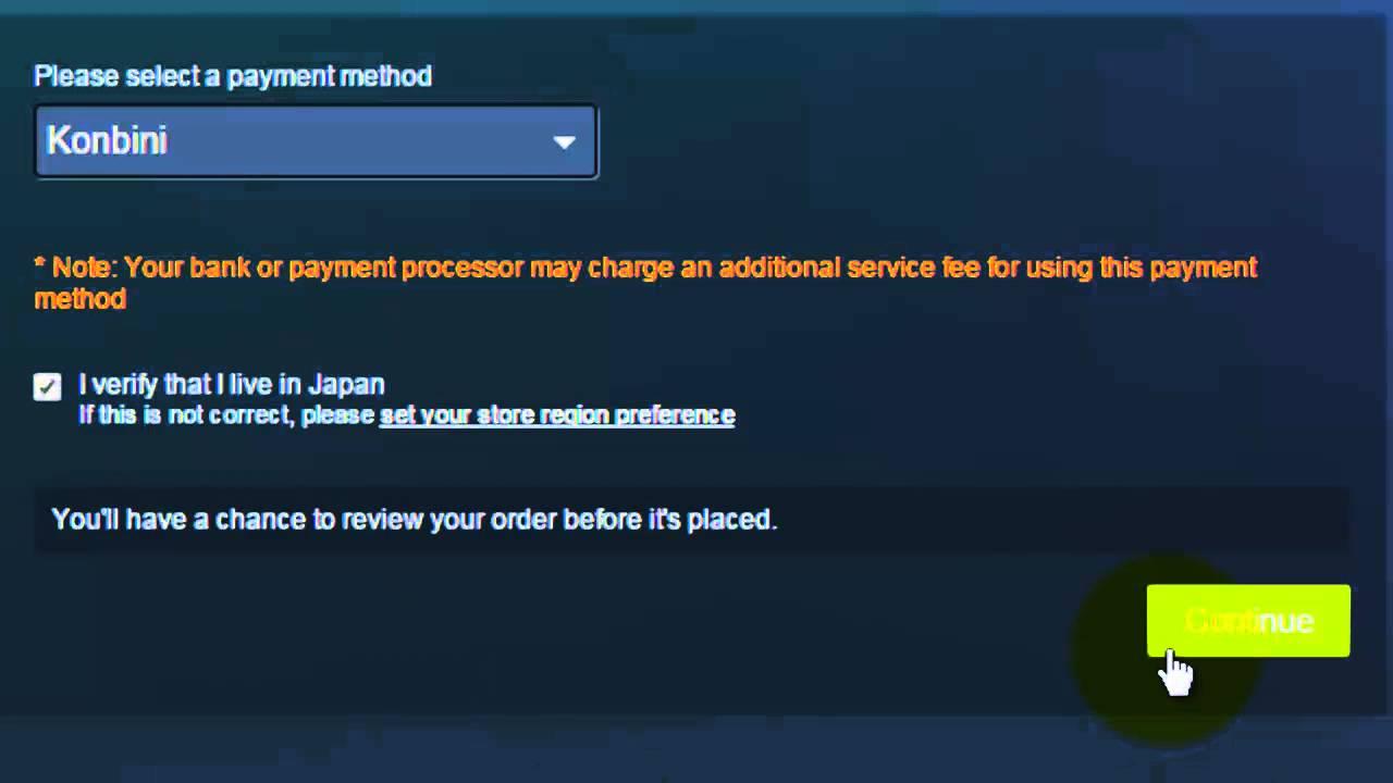 Steam Wallet in Japan Konbini - YouTube