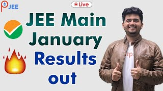 JEE Main January Results out | Vineet Khatri sir | Live session |Motivation