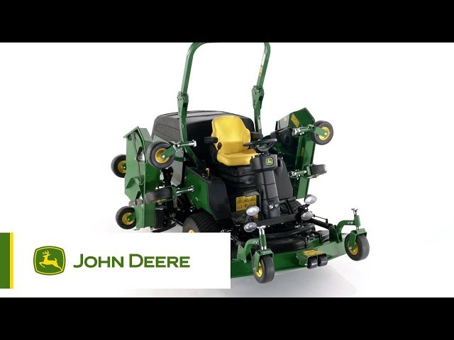 The John Deere 1600T Wide Area Rotary Mower