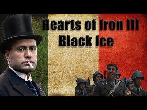 Hearts of Iron 3 | Black ICE | Italy | Episode 1