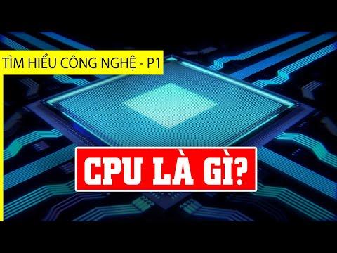 Thông não về Chip xử lý CPU cho người mù công nghệ
