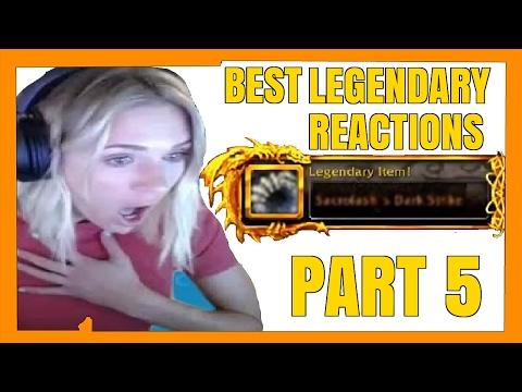 BEST LEGION LEGENDARY DROP REACTIONS [Part 5]