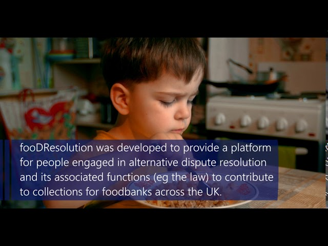 fooDResolution - donate now to show there is #noplaceforhunger