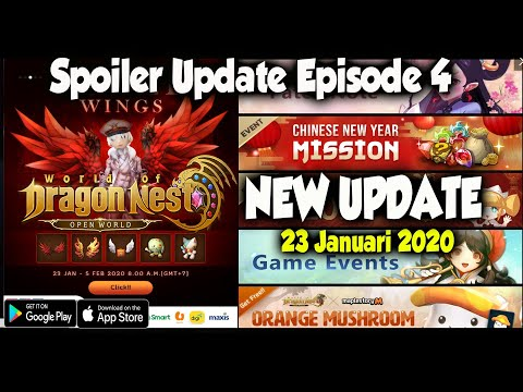 Patch Baru !!! Kok Gini amat ya - World of Dragon Nest (ENG) Android - 동영상