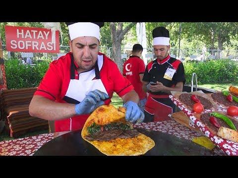 Street Food Festival In Antalya, Türkiye