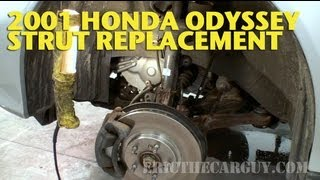 Front Strut Replacement, 2001 Honda Odyssey -EricTheCarGuy