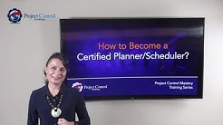 How to become a Certified Project Planner/Scheduler?