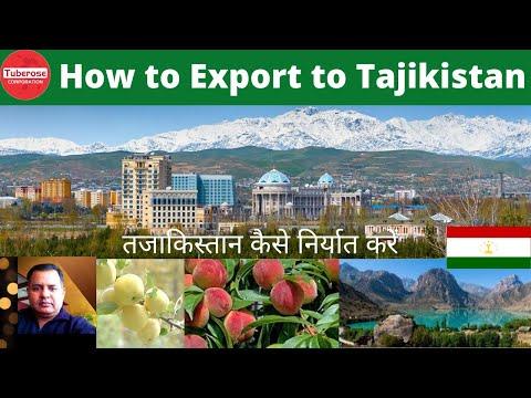 तजाकिस्तान कैसे निर्यात करें | How to Export to Tajikistan ? Start Export to Tajikistan from India.
