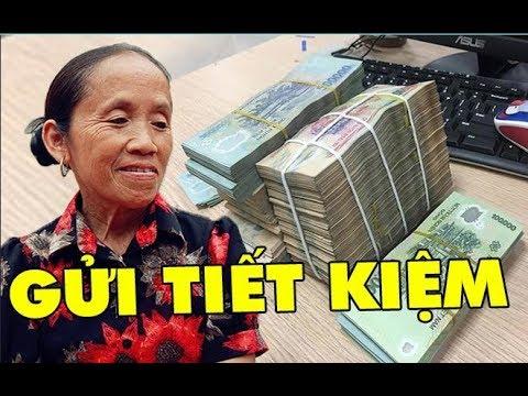 Choa'ng với số tiền Bà Tân Vlog mang đi gửi tiết kiệm sau khi kênh youtube được bật kiếm tiền