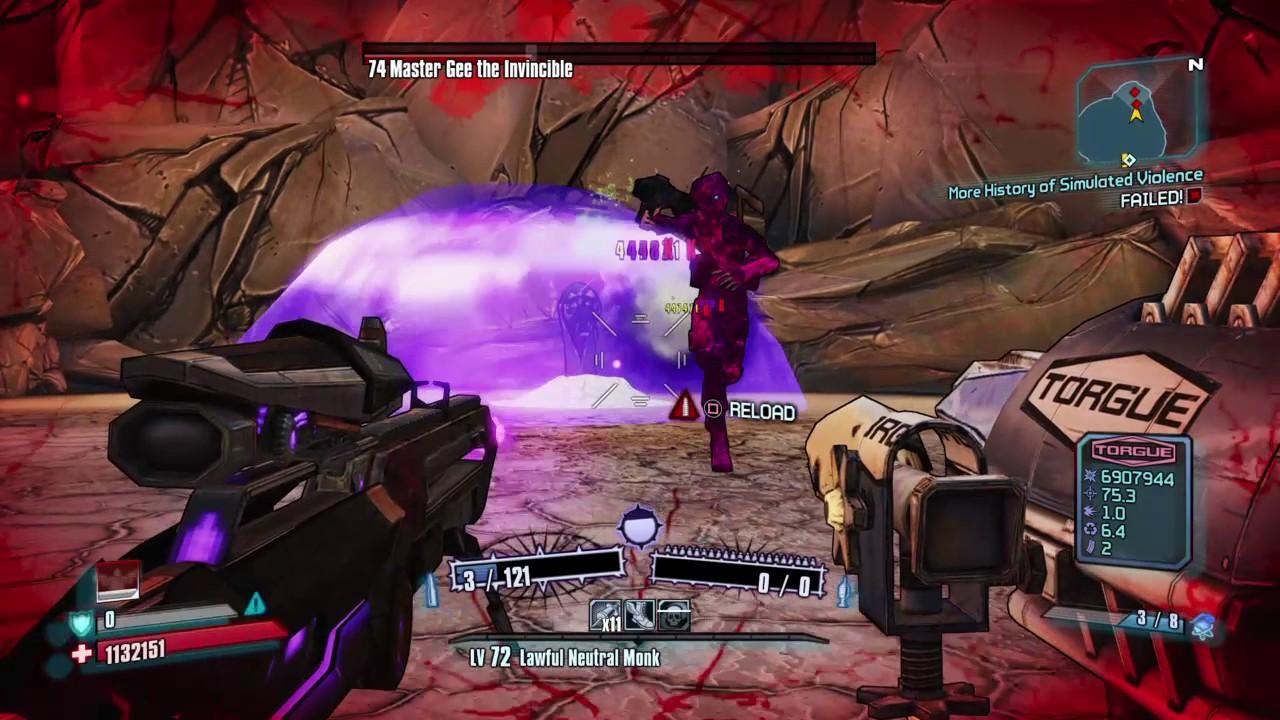 Borderlands 2: Master Gee VS Pimpernel-Ahab glitch