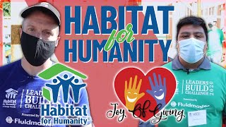 Building Houses and Developing Our Community | Habitat for Humanity & The Joy of Giving