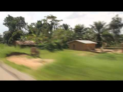 Ghost villages in eastern Congo