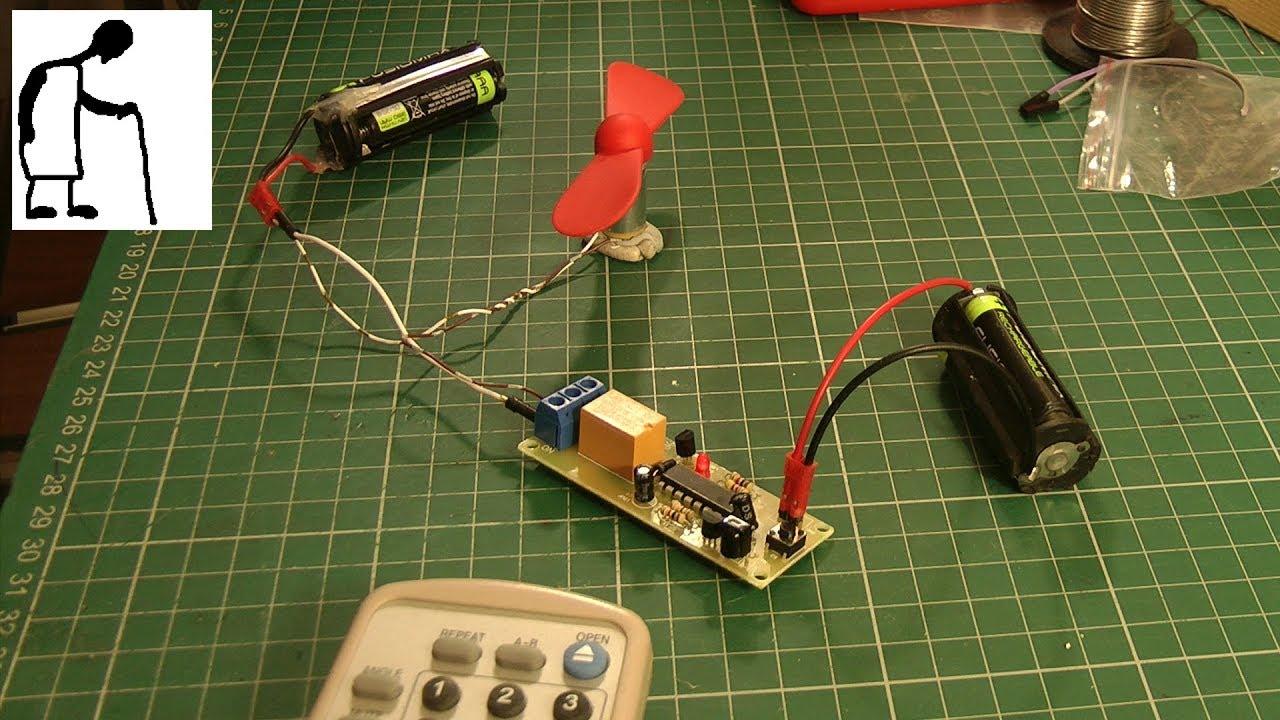 Infrared Receiver Electronic Diy Kit Youtube Circuit
