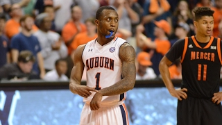 Kareem CANTY with the Auburn Tigers