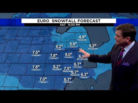 Metro Detroit weather: