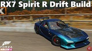 Forza Horizon 4: Mazda RX7 SPIRIT R! Single Turbo, Drift Build!!
