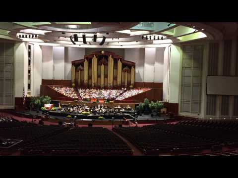 Mormon Tabernacle Choir Practice