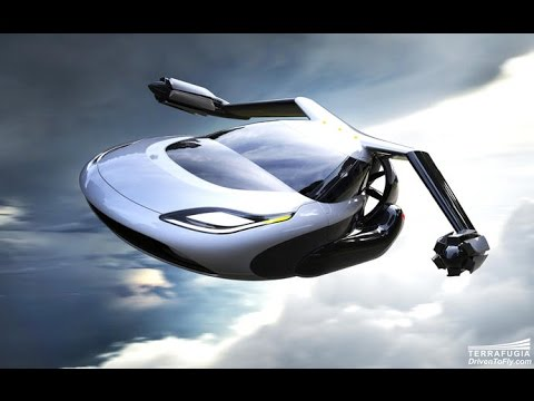 Tomorrow Daily - TF-X flying car concept gets a fancy new design, Ep. 213
