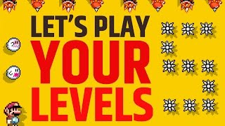 Super Mario Maker - Submit the Hardest Levels EVER!