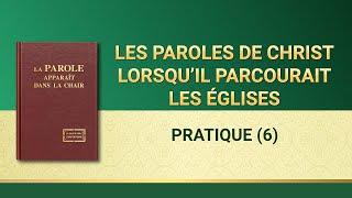 Paroles de Dieu « Pratique (6) »