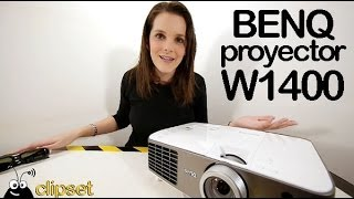 BenQ W1400 Full HD 3D proyector review Videorama