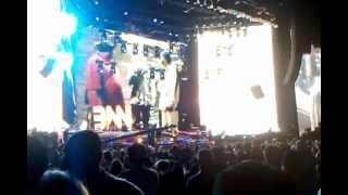Eminem Live in Detroit Crack a Bottle, The Real Slim Shady, The Way I am. Home and Home 2010