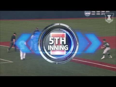 Illinois Baseball Highlights vs. Michigan State (Game 1) 3/24/17